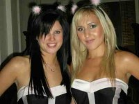 Kayleigh and tottie, Tequila Girls in Bath, UK
