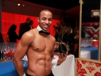 Hunky naked butlers for social events in Cardiff, UK