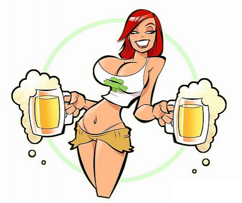 Beer Wench Drawing Beer Wench Girls Event Staff