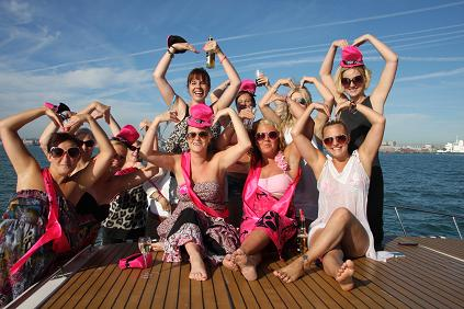 Adventurous hen party is a great idea to have fun